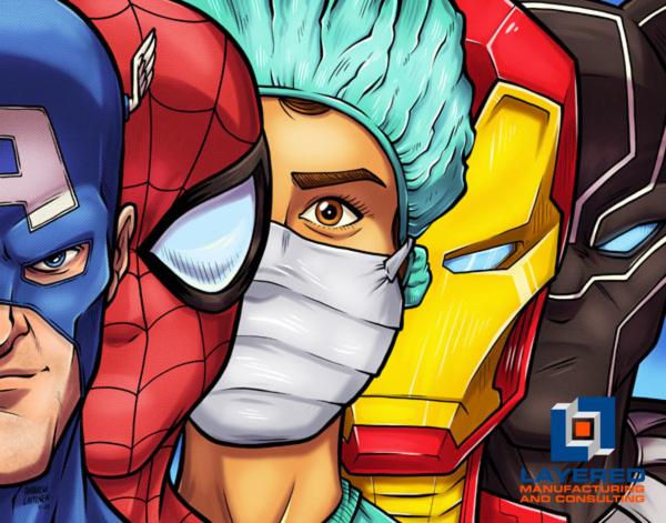 Masked Heroes Nurse